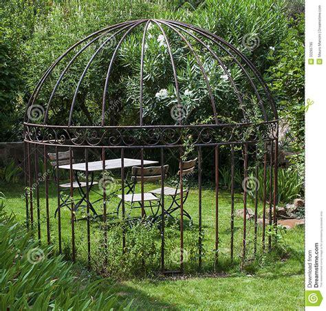 Romantische Tuin Royaltyvrije Stock Foto Afbeelding