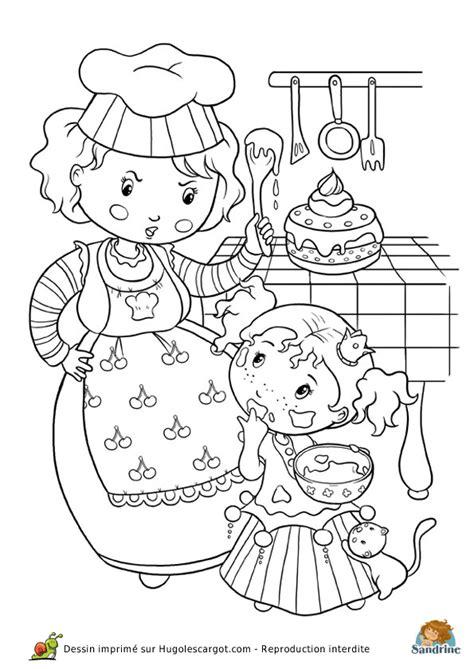 jeux de la cuisine de maman coloriage princesse cuisine page 6 sur 13 sur