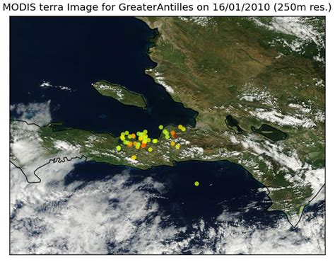 Exploring Real-time Haiti Usgs Earthquake Data With Near
