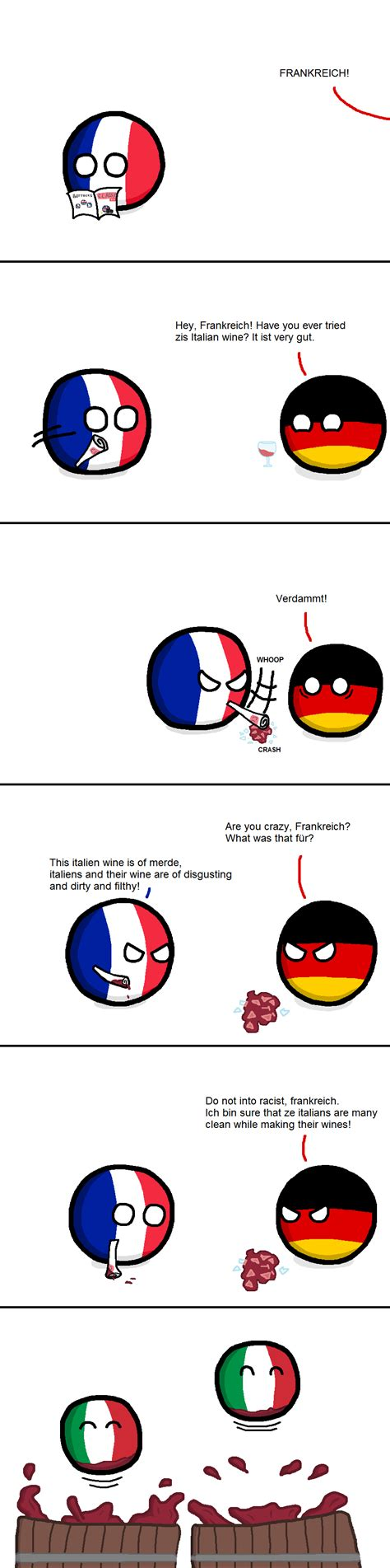 """The best memes from instagram, facebook, vine, and twitter about in germany. """"Winemaking"""" ( France, Germany, Italy ) by FlyingBlueWolf ..."""
