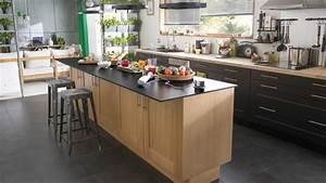 Ilots Central Cuisine : cuisine avec lot central avantages et inconv nients c t maison ~ Melissatoandfro.com Idées de Décoration