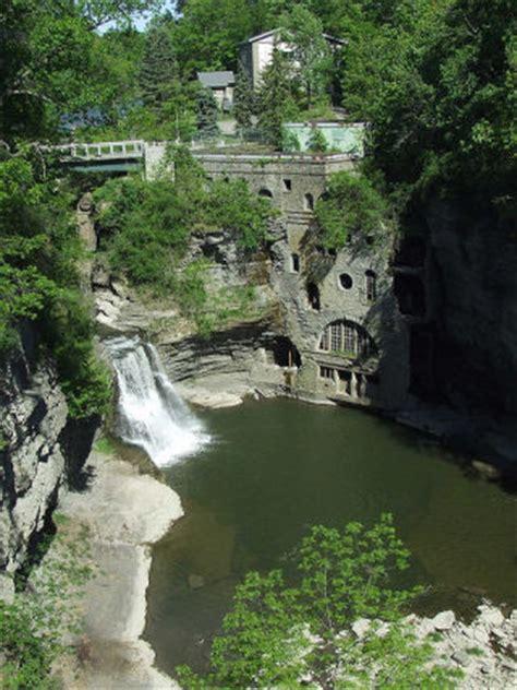 bridgehuntercom triphammer falls footbridge