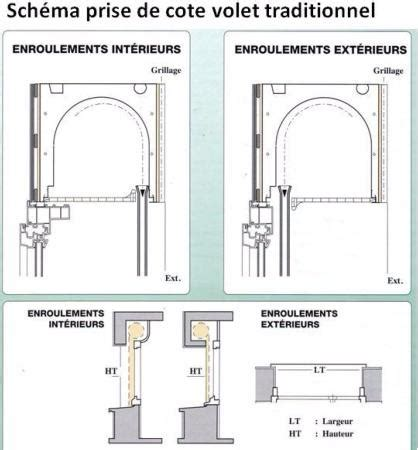 coffre tunnel volet roulant montage et caract 233 ristiques des volets traditionnels