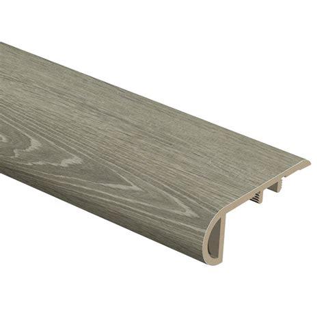 vinyl plank flooring trim stair nose vinyl molding trim vinyl flooring resilient flooring the home depot