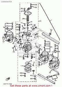 Yamaha Xj750r Seca 1982  C  Usa Carburetor