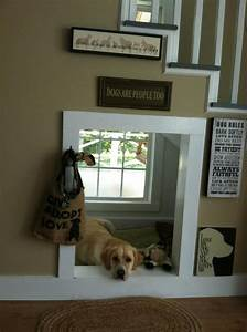 indoor dog house under stair With indoor dog house with stairs