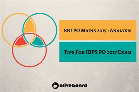 Sbi Po Mains Analysis & Tips For Ibps Po 2017 Exam Oliveboard