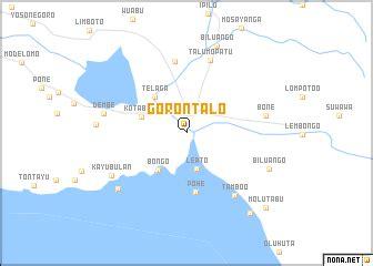 gorontalo indonesia map nonanet