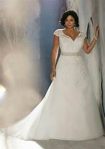 love this plus sized wedding dress for us busty girls who With busty wedding dress