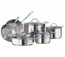 abtcom emerilware esa cookware set stainless steel cookware set cookware set nonstick