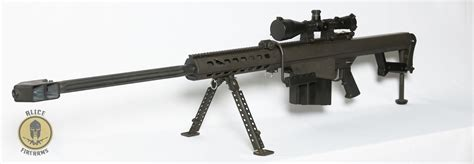 Barrett Bmg by Barrett 82a1 50 Bmg Semi Auto Sniper Rifle Demo Set Up