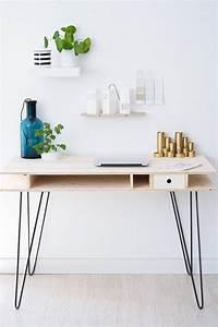 Hairpin Legs Baumarkt : diy schreibtisch mit hairpin legs handmade kultur ~ Frokenaadalensverden.com Haus und Dekorationen