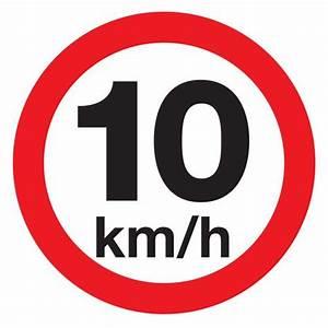 Km H Berechnen : placa de sinaliza o velocidade m xima 10 km h placas indicativas sinaliza o ~ Themetempest.com Abrechnung