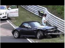 BMW Z3 M Frontal CRASH Nordschleife Unfall Nürburgring