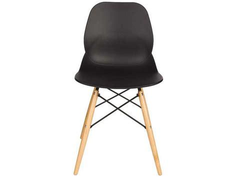 chaise orca coloris noir conforama pickture