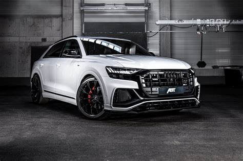 Audi Q8 Tuning Abt by Abt Takes Audi Q8 50 Tdi To 330bhp And Adds New Bodykit Evo