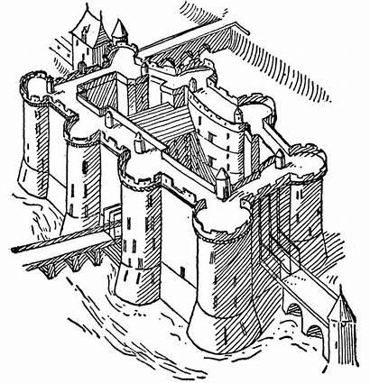 Bastille Revolution French Clipart Fortress Clip Paris