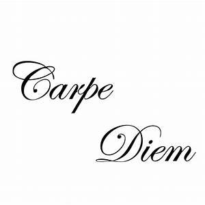 Online Buy Wholesale carpe diem quotes from China carpe