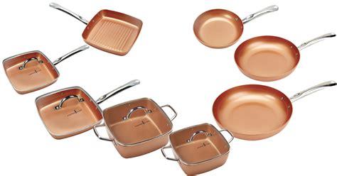 chef copper cookware pots pans mylitter