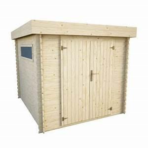 Abri Moto Bois : abri de jardin en bois rauma 2 ep 19 mm 5 07 m castorama ~ Melissatoandfro.com Idées de Décoration