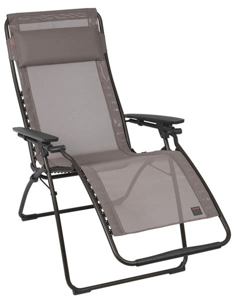 fauteuil massant zero gravity lafuma zero gravity sun loungers back in