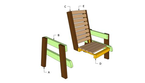 plans for wood chair pdf woodworking