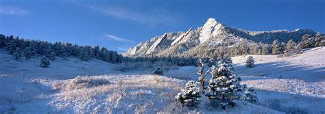 Flatirons Winter Panorama | Boulder, CO | Thomas Mangan ...