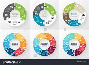 Vector Circle Puzzle Infographic Template Cycle Stock Vector 247327018