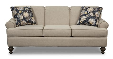 Small Scale Traditional Sofa By Craftmaster Wolf And