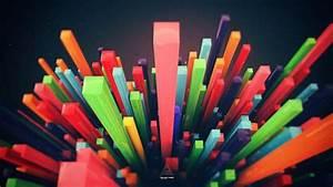 Minimalistic, Multicolor, Digital, Art, Lines, Wallpapers, Hd