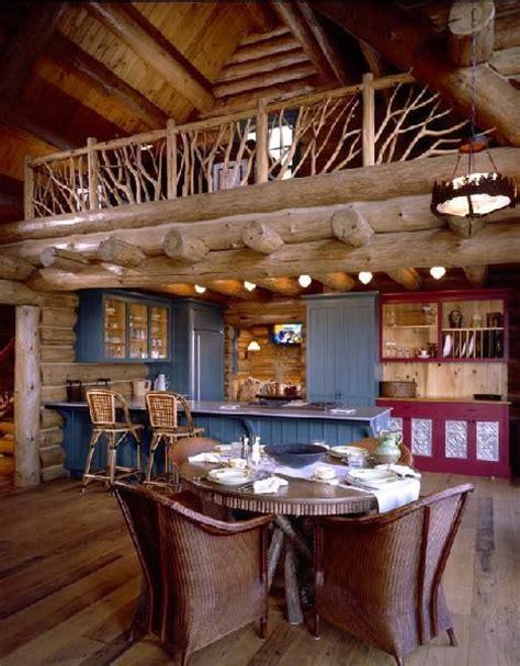 1000+ images about log cabins kitchens on Pinterest Log