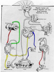 Wordwind  Drawn Motorcycle Wiring Diagrams