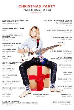christmas party playlist out on out happy hour and slumber