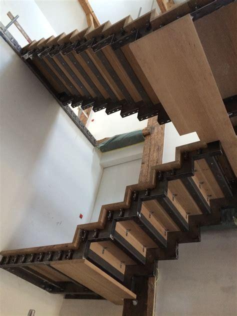 escalier bois m 233 tal delineo sa