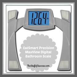 eatsmart precision maxview digital bathroom scale the
