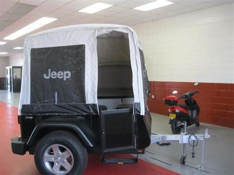 jeep pop up tent trailer brand new 2011 jeep mopar trail edition pop up cer
