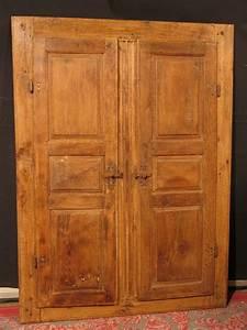 Fausse Porte De Placard : ancienne paires de portes d 39 armoire avec bati 18 me en ~ Zukunftsfamilie.com Idées de Décoration
