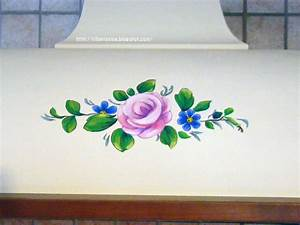Le avventure della mia fantasia: [bricolage] Dipingere una rosa, seconda parte Come decorare