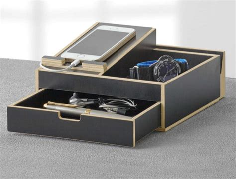 Nightstand Valet by New Dresser Valet Storage Wallet Cell Phone