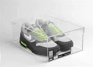 Boite à Chaussures Transparentes : une bo te en plexiglas pour sneakers sign e krate co ~ Dailycaller-alerts.com Idées de Décoration