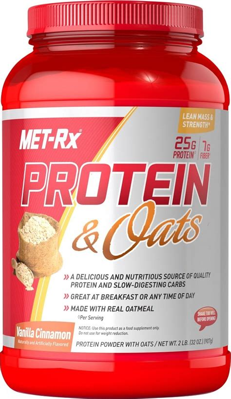 Amazon.com: MET-Rx Protein and Oats Nutrition Shakes
