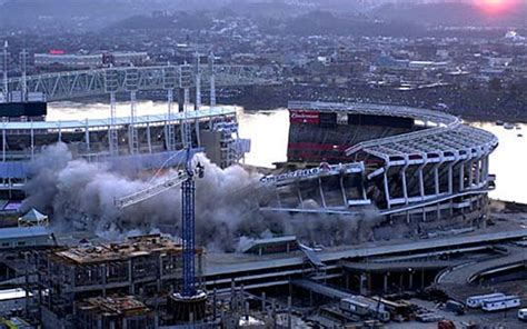 structural demolition projects cinergy field