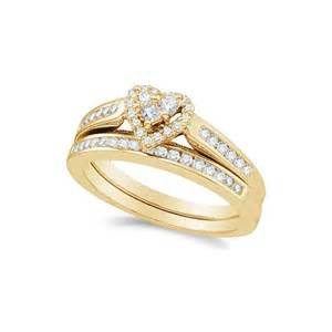 1 carat wedding ring sets unique 1 carat shape wedding ring set in yellow gold withfeelings
