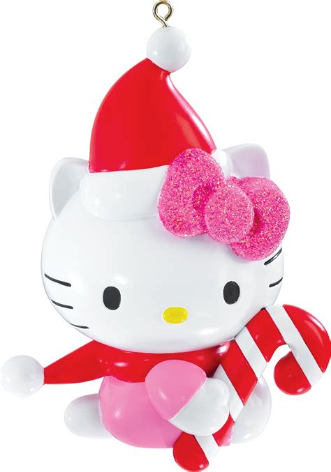 2015 hello kitty christmas ornament carlton heirloom