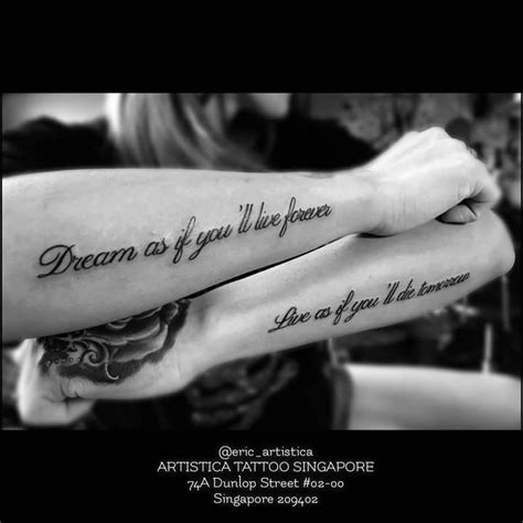 Inspirational Hand Tattoo Quotes