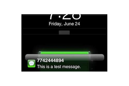 download iphone text message alert