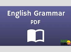 English Grammar PDF BankExamsToday