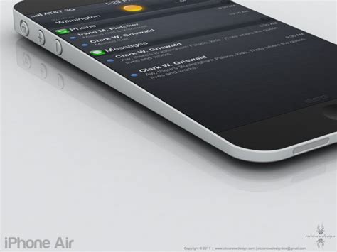 iphone air iphone air oh my god could it be real concept phones