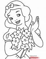 Coloring Pages Grumpy Dwarf Snow Disney Princess Coloringtop Flower Holding Possible Kim Ice Age Flowers Snowwhite Cartoons Disneyclips Rose sketch template