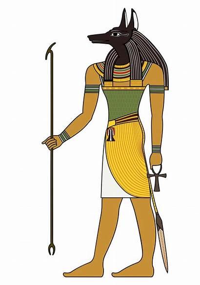 Egyptian Egypt Ancient Symbol Seth God Anubis